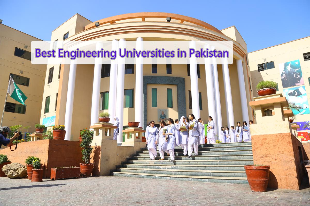 Best Engineering Universities in Pakistan