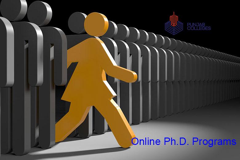 Online Ph.D. Programs