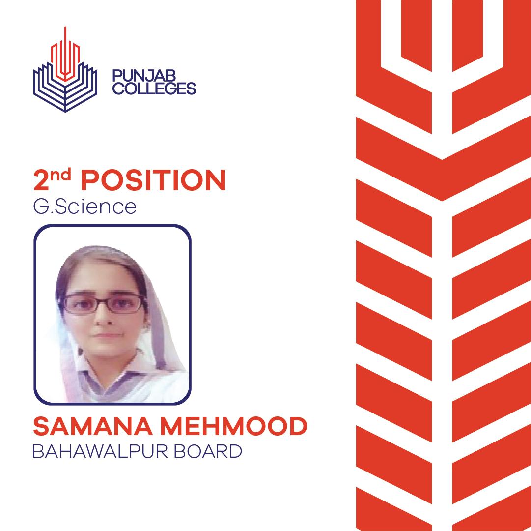 Samana Mehmood