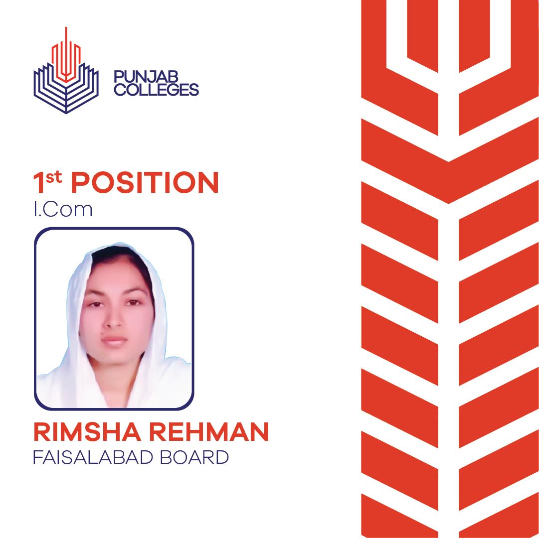 RIMSHA REHMAN