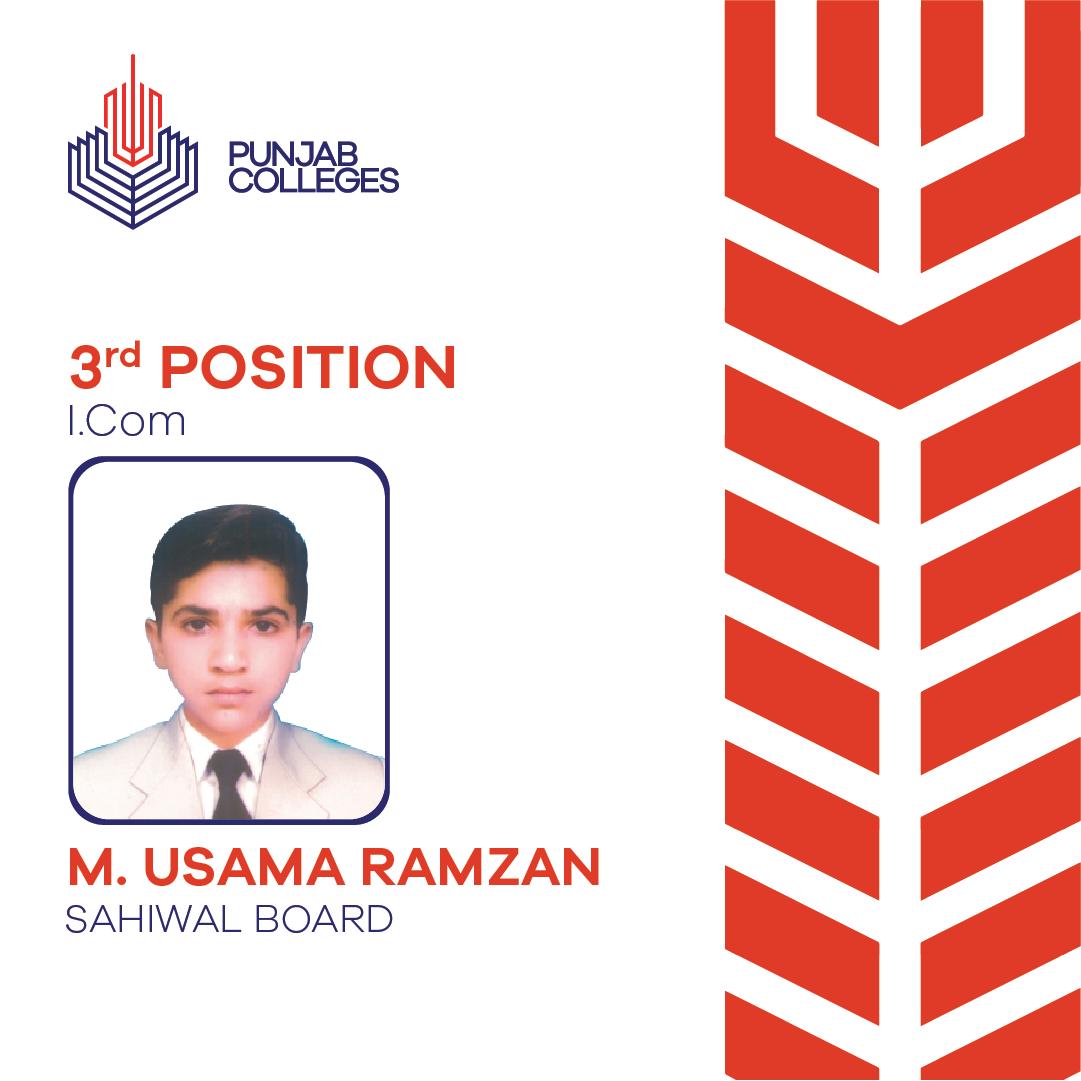 Muhammad Usama Ramzan
