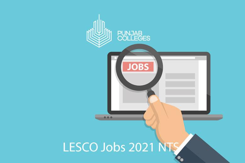 LESCO Jobs 2021 NTS